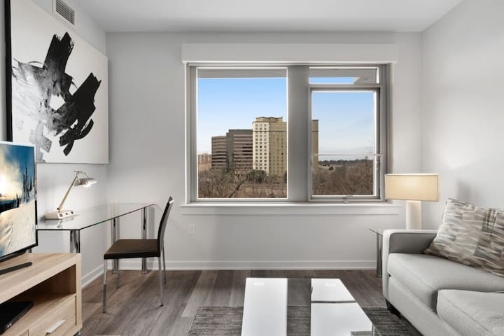 Spacious 1BR Apt in Crystal City + Fitness Center