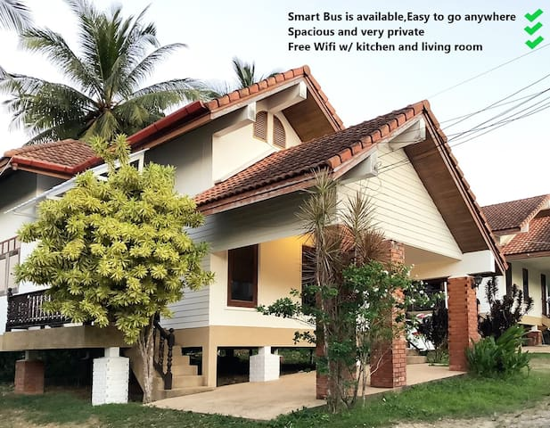 Cozy Private house near Bangtao Beach w/ free wifi