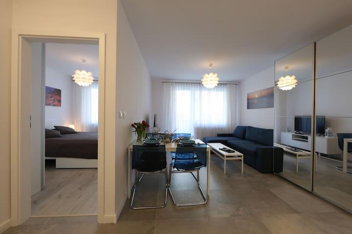 One-bedroom Apartment ☼ Bliżej Morza ☼