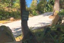 Start of Treehouse driveway