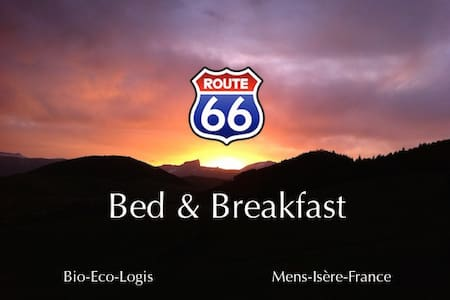 Route 66, Bio-Eco-Bed & Breakfast in French Alps - Mens