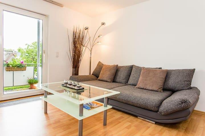 Moderne & strandnahe Ferienwohnung - Zingst - Apto. en complejo residencial