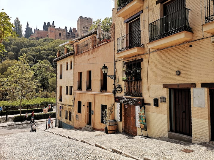 Full flat in the historic center of Granada