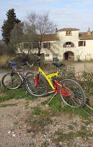 Chianti wine farm near Florence - Montespertoli