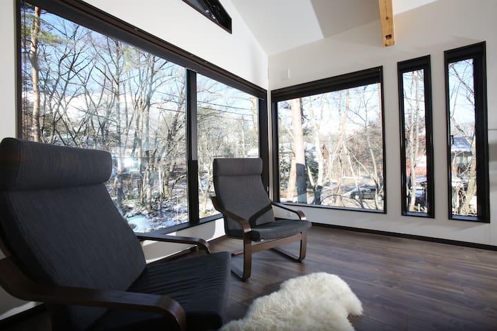 Winter escape with underfloor heating -Snowlines B