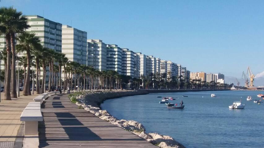 Habitación con baño privado. - Cádiz - House