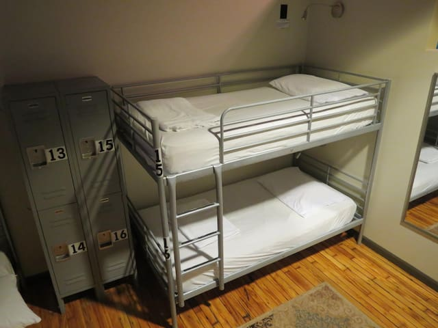Bunk Bed at Sweet Peas Hostel
