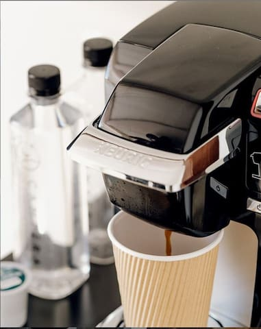 In-Bubble Coffee Maker available in every bubble. We got you covered, for all coffee and tea lovers.