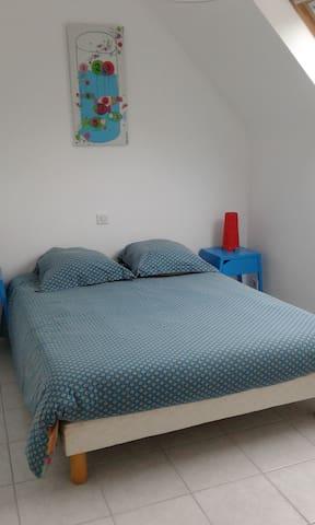 Chambre 2: Poissons de Marine B à l'étage (lit 140)