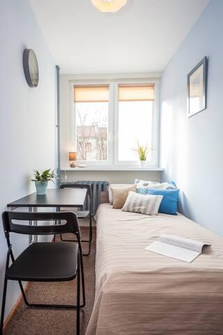 Jasny miły pokój - City center - Bright nice room - Wroclaw - Byt