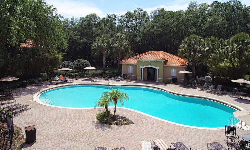Compass Bay Resort Pool Overview