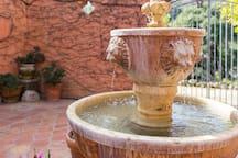 Atrium fountain