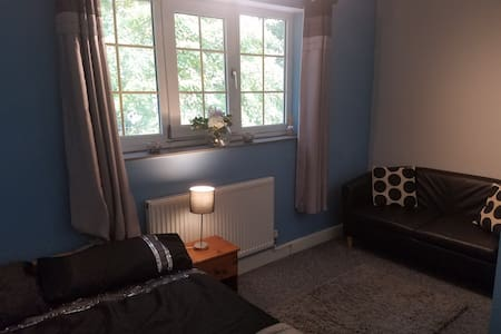 Lovely double room with parking and private bath