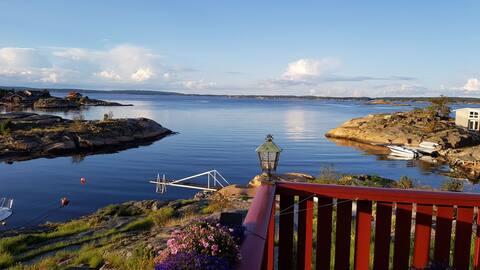 Wonderfull cabin on sunny Hvaler