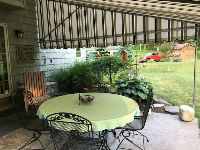 Back Yard Covered Patio