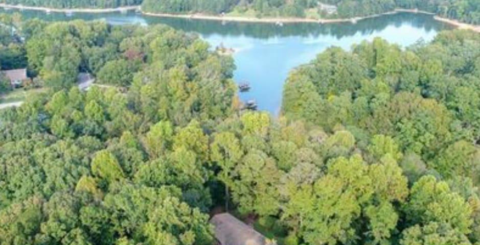 Big Woods on Lake Lanier