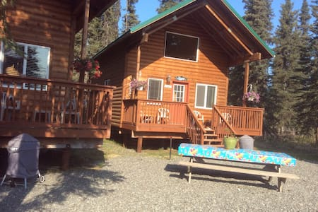 Cabins on the Kenai River
