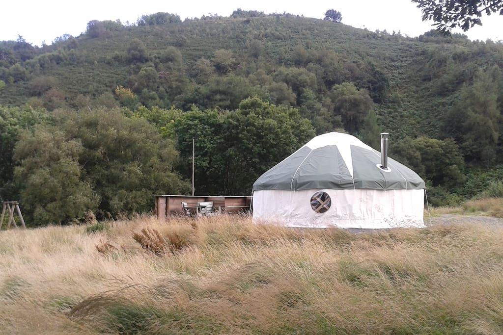 The Red Kite Yurt