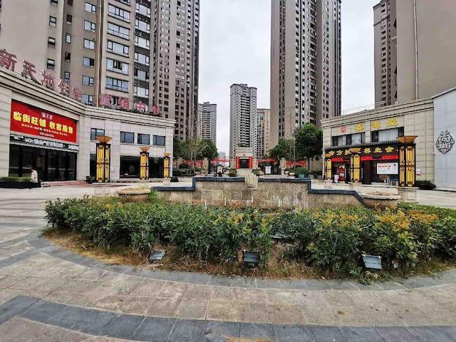 【松轩】新天地,二房二厅 ,荆州中高速出口几百米,近方特,火车站,荆州古城墙几公里