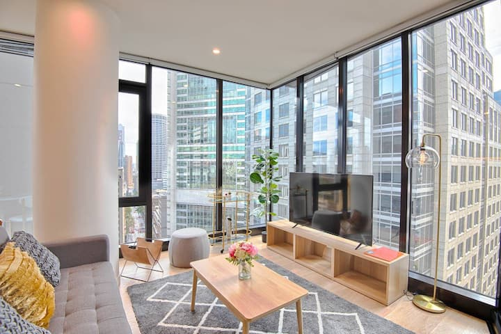 YORK & GEORGE: SYDNEY CBD  LUXURY 2BED APARTMENT