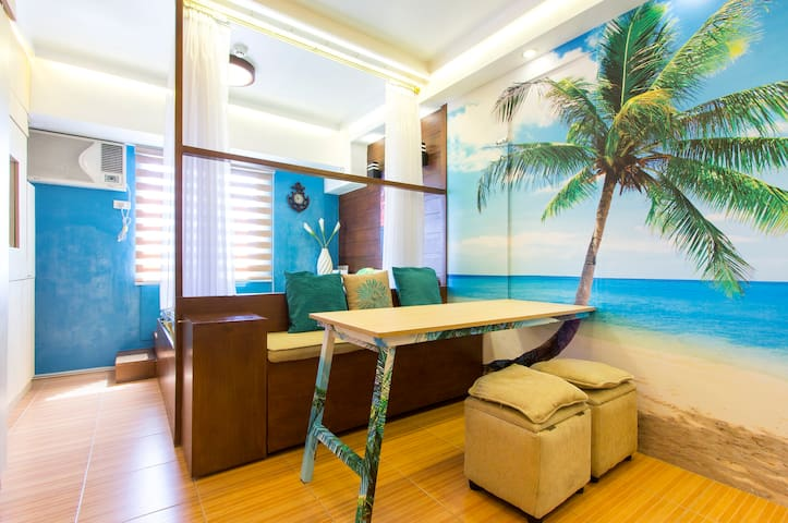 Beach Inspired Condo Unit - Manila - Daire