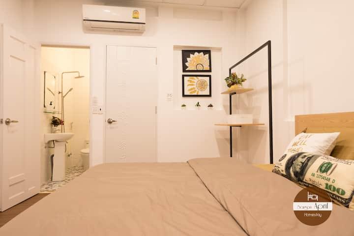 April deluxe room