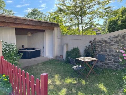 Maison de village avec spa