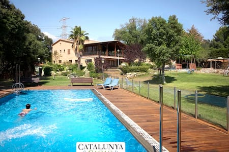 Masia Matadepera for 14 guests, only 25km from Barcelona! - Barcelona Region - House