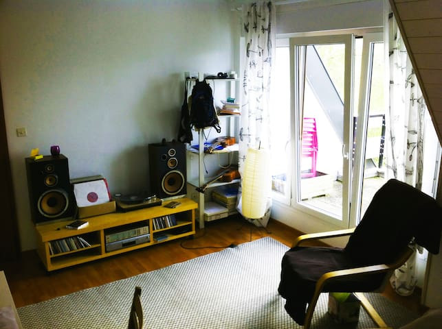 Appartement au calme proche de la nature - Niederbronn-les-Bains - Lägenhet