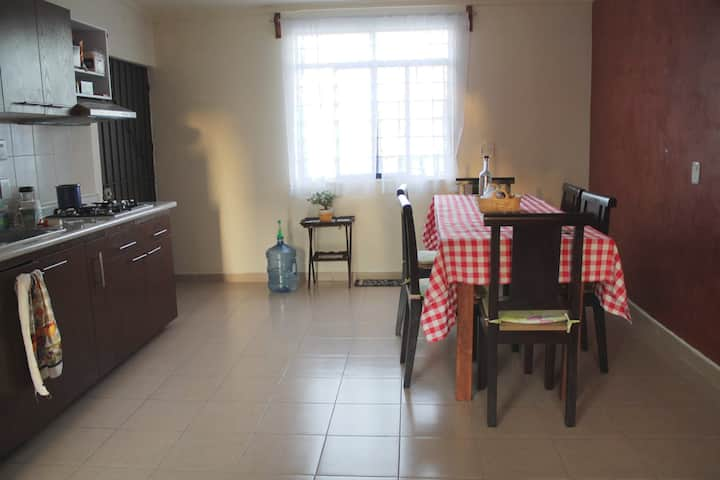 Spacious and comfortable apartment at Volcanes