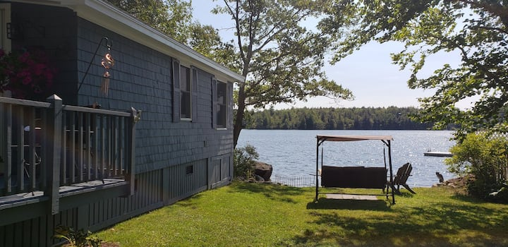 Loon's Nest Lake Home with Private Beach and Dock
