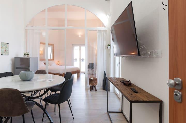 Neue Luxus Wohnung mit Meersicht am Hafen