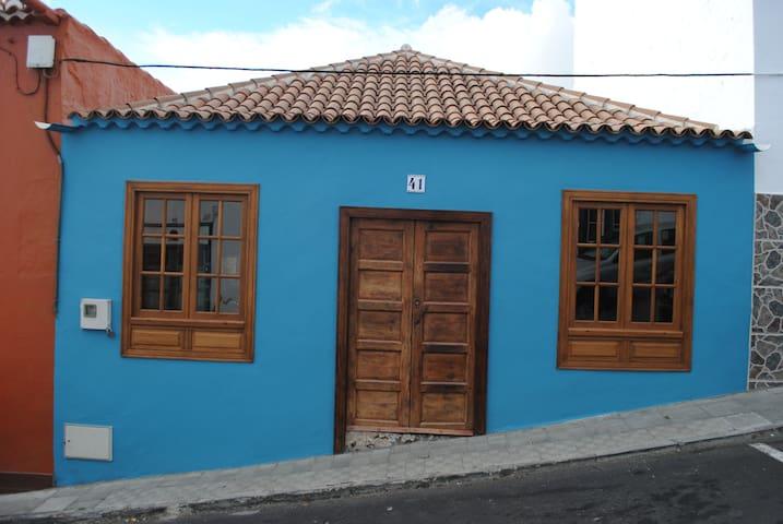 Cosy Canarian home in centre, historic Santa Cruz - Santa Cruz de la Palma - House