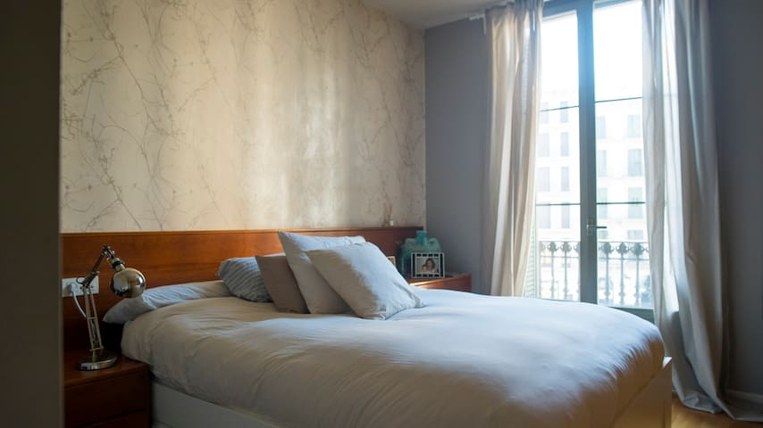 PRIVATE ROOM IN THE CENTER OF BARCELONA - Barcelona - Appartement