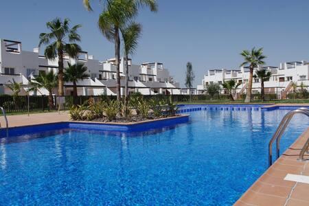 Family/golf Penthouse resort - Alhama de Murcia