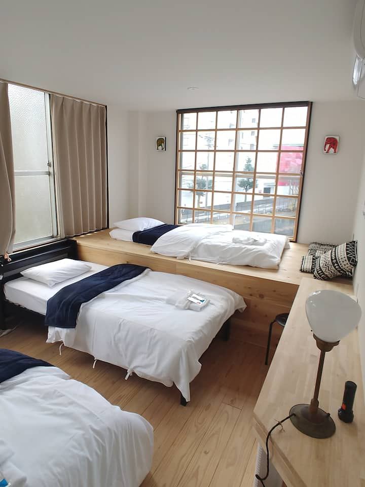 駐車場無料FREE car park available Nagoya Deluxe Room✿