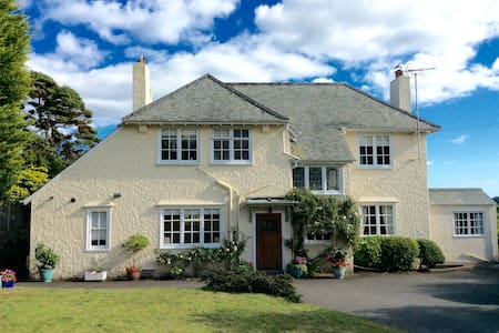 Treyarnon House Tywardreath PL24 2PU - Tywardreath - Bed & Breakfast