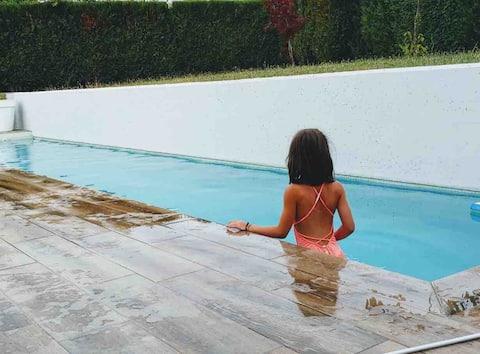 Casita rural privada con piscina