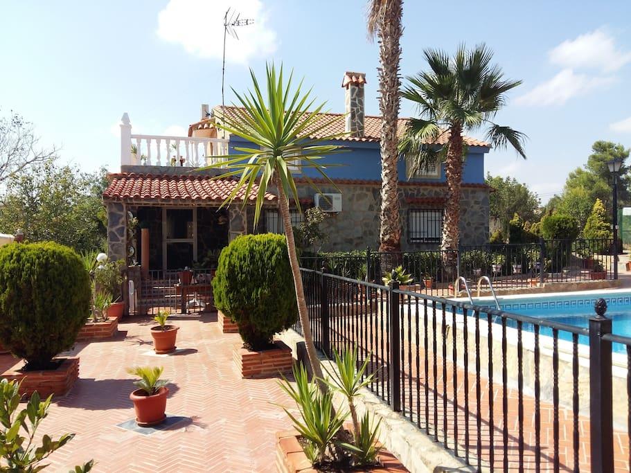 Chalet villamarchante chalets en alquiler en vilamarxant for Alquiler chalet piscina privada comunidad valenciana