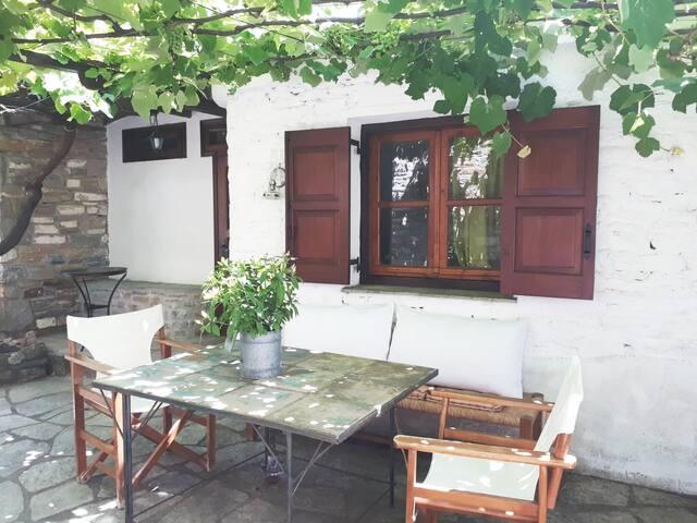 Beautiful small house in idyllic pilio