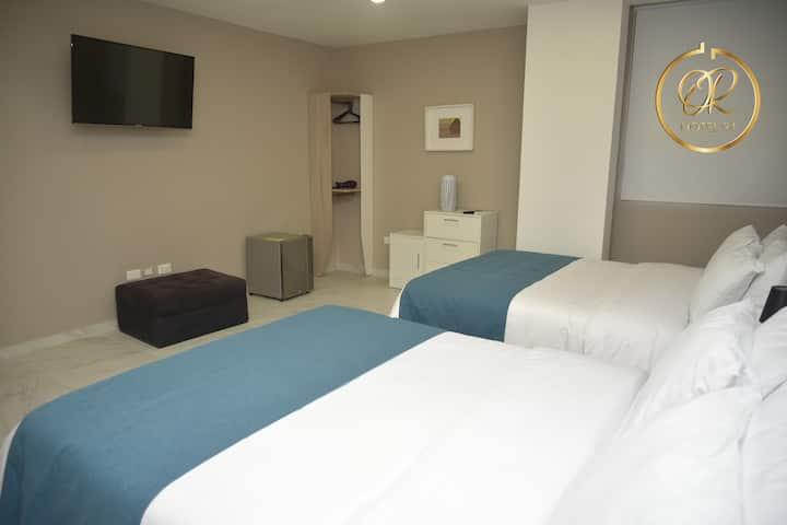 OR HOTEL 94 EN BARRANQUILLA - HABITACIÓN DOBLE