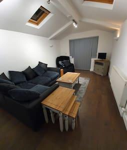 Basement flat in period property
