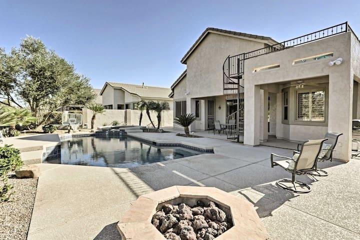 Upscale Phoenix House w/ Private Pool & Hot Tub!
