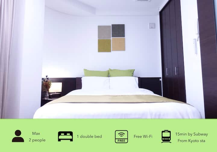 201  ★10 seconds to the station! Kitchen&Free WIFI