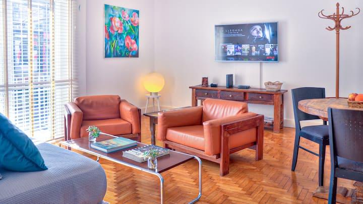 Exclusivo  apartamento tipo casa sobre Libertador