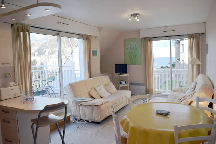 APPARTEMENT FACE MER 4 PERS BRISE MARINE
