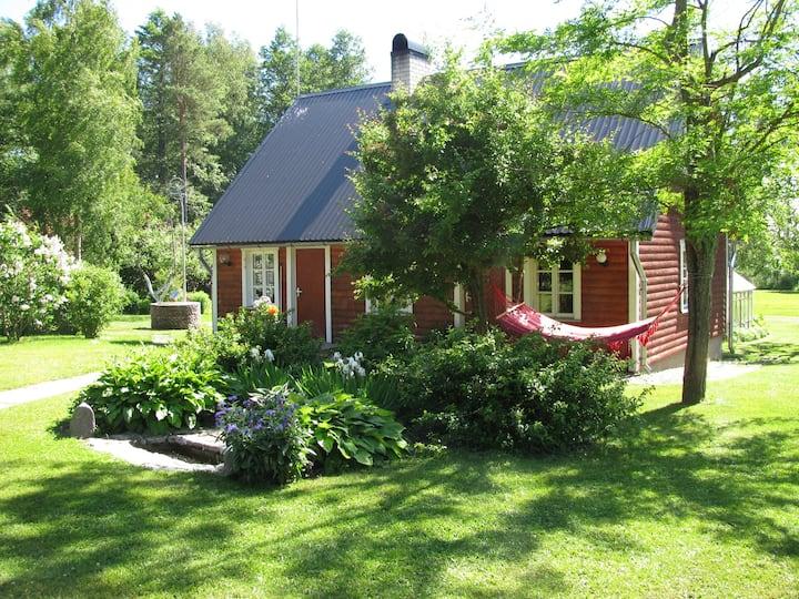 Metsaääre sauna house in Emmaste