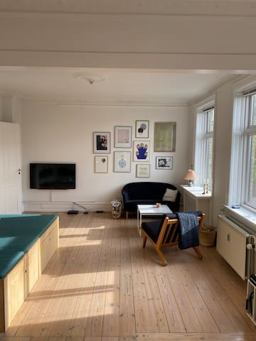 Nice appartement near the lakes in Copenhagen.