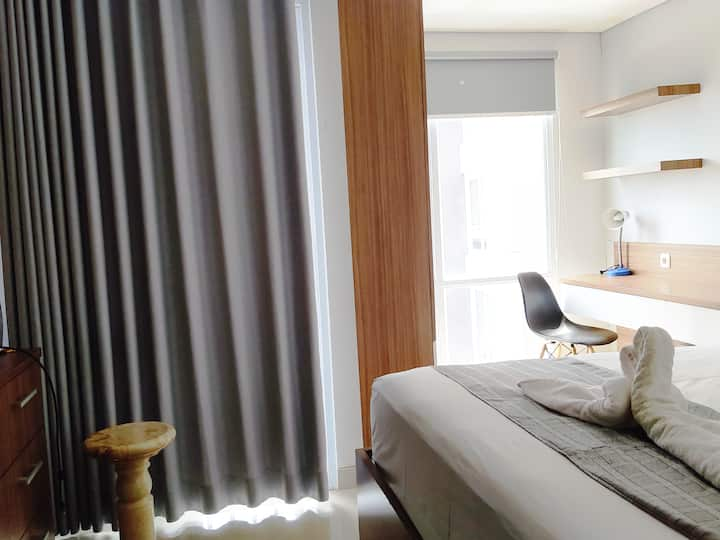 Cozy Room at Apartemen Melati Yogyakarta