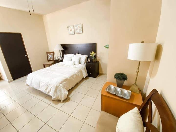 Condominio centrico, seguro, limpio y economico.
